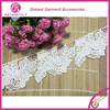 2015 Fashion New Design Decorative Embrodery Cotton Polyester French Lace Trimmings For Dresses