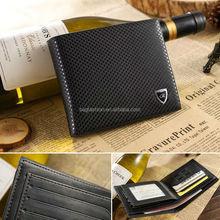 2014 High quaity durable europe leather men wallet wholesale