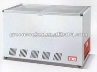 China manufacturer refrigeration equipment/Grocery mobile refrigerator for fresh meat/display fridge chest freezer with CE/ROHS