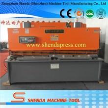 Shenda 16mm iron plate hydraulic CNC Shearing machine