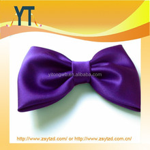 Charming Purple Color Bigger Size Hair Bow/Barrette/Hair Pin With Various Clip
