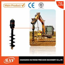 tree planting earth drill for deep foundation piles