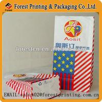 2014 kraft paper bag,flat bottom bag for food,dried food packaging bag