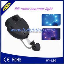 cheap led dmx stage barrel 200w 5r beam light scanner