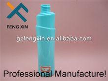250ml de plástico pet material de la botella para el cuidado personal y el champú de uso de la botella de plástico