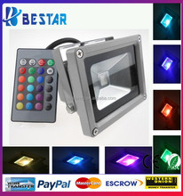 Fast delivery IP65 led rgb flood light 50w for outdoor lighting 85~265V CE RoHS UL