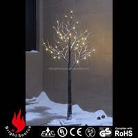 holiday color changing led glass christmas tree