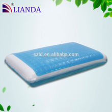 Magnetic beads adults age group cooling gel memory foam pillow