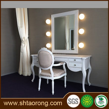 modern hotel furniture bed room dressing table
