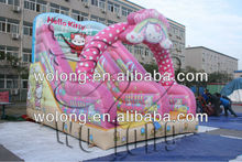 inflatable playhouse slide / inflatable tropical slide
