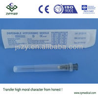 stainless steel disposable medical sharpness needles