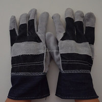 long leather glove/ welding glove/ cow split long normal working glove to protect your hands