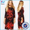 China online shopping Print dress for elegant women clothes women