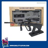 1:6 die cast metal toy gun model,self assemble toys AUG gun