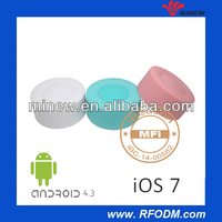 CE and FCC certified optional colored casing ble 4.0 ibeacon
