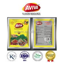 Halal pollo Bouillon polvo mezclado Jollof especias y condimentos [ AVIVA polvo ]