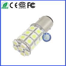 12v 1157 p21/5w 5050 SMD 27 LED solar light Flash led light bay15d flashlight LED strobe car bulb stroboscope light beacon bulb