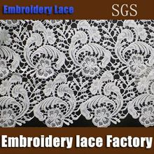 TOP10 FABRIC MANUFACTURER embroidery trimming guipure lace