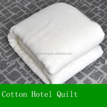 cotton hotel bed quilt sheet
