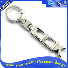 High quality cheap custom keychain/ metal keychain manufactures in china/ turbo keychain wholesale
