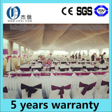 Fashionable party tent for sale decorating with roof linings and curtains