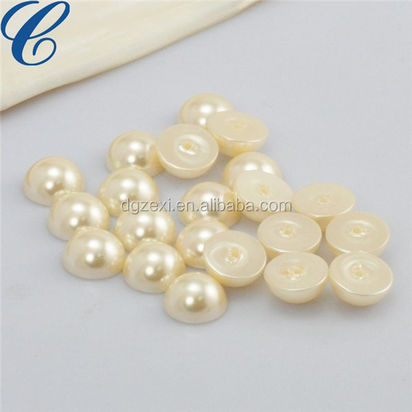 12mm flat back pearl