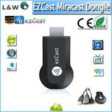 2015 newest miracast dongle better than old ezcast and chromecast Support Dlan Protocol, ezcast smart tv dongle stick