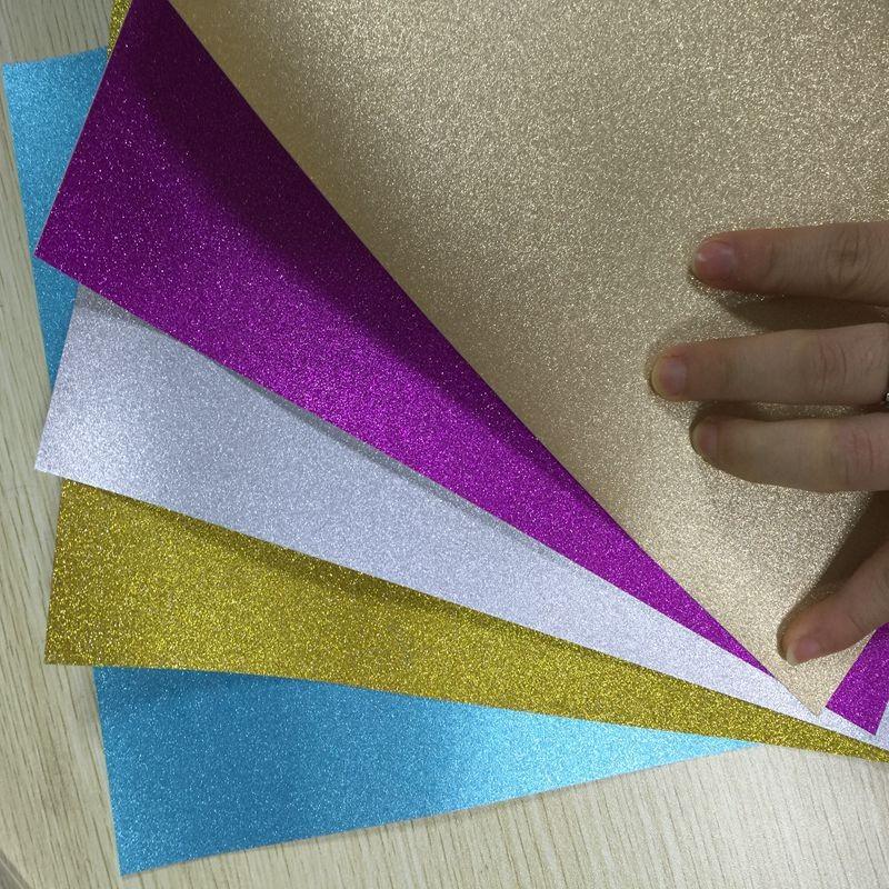 Как сделать блёстки для бумаги