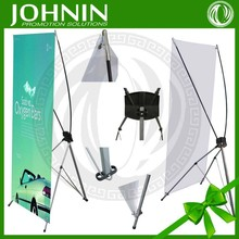Desktop Mini X Banner stand for Advertsing promotion beach feather flag