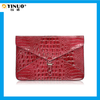 "YINUO Multi-Color Fasion Hasp Leather Laptop Sleeve Bag 11.6""/13.3 inch for MacBook Air"