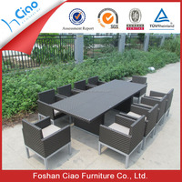 Living room furniture 10 seater dining table outdoor table sets