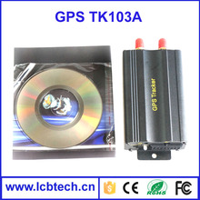 Low price gps car tracker bicycle bike gps tracker gps TK103-A with Authorized number added and deleted function