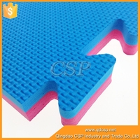 high density Eco multicolor foam blocks sheets / eva rubber foam
