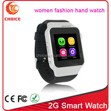 New wholesale trend design cheapest wrist calculator watch phone with touch screen