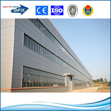 China made low cost light prefabricated steel workshops