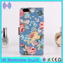 flip denim de alta calidad del teléfono móvil para htc incredible s