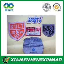 Elegant popular garment woven label,cloth woven label,woven plain clothing label