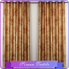 2015 New Design Drapes Elegant Printed Bead Curtains for Doors With Embossed Design