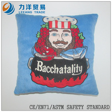 Plush cushion or pillow(back/seat cushion), Customised toys,CE/ASTM safety stardard
