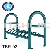 Top sale Standing Galvanized steel outdoor bicycle rear rack