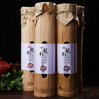 Healthy slimming tea Raw tea pu er bamboo packed Yunnan puer tea