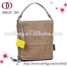 China manufacturer wholesale lady genuine leather hand bag for women