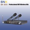 2014 año uhf karaoke nuevo sistema de micrófono inalámbrico