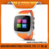 Hnet Android 4.2 OS 3G GPS WIFI Bluetooth smart watch mobile phone with Heart Rate Monitor