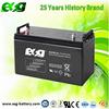 120AH 12V sealed lead acid battery for solar energy storage system