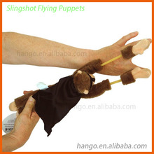 Playmaker Flingshot Screaming Plush Flying Animal Monkey
