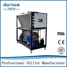 China professional CE certification tank coil evaporator 58kw liquid cooling system for pc