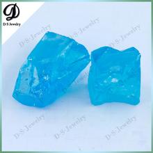 China Manufacturer L-Aquamarine CZ Synthetic Rough Diamond