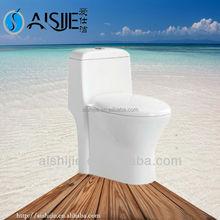 A3158 New design dual flushing fashional wc p trap toilet