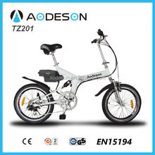 CE approved folding electric bike TZ201with tourney 6 speed motorcycle Kid's
